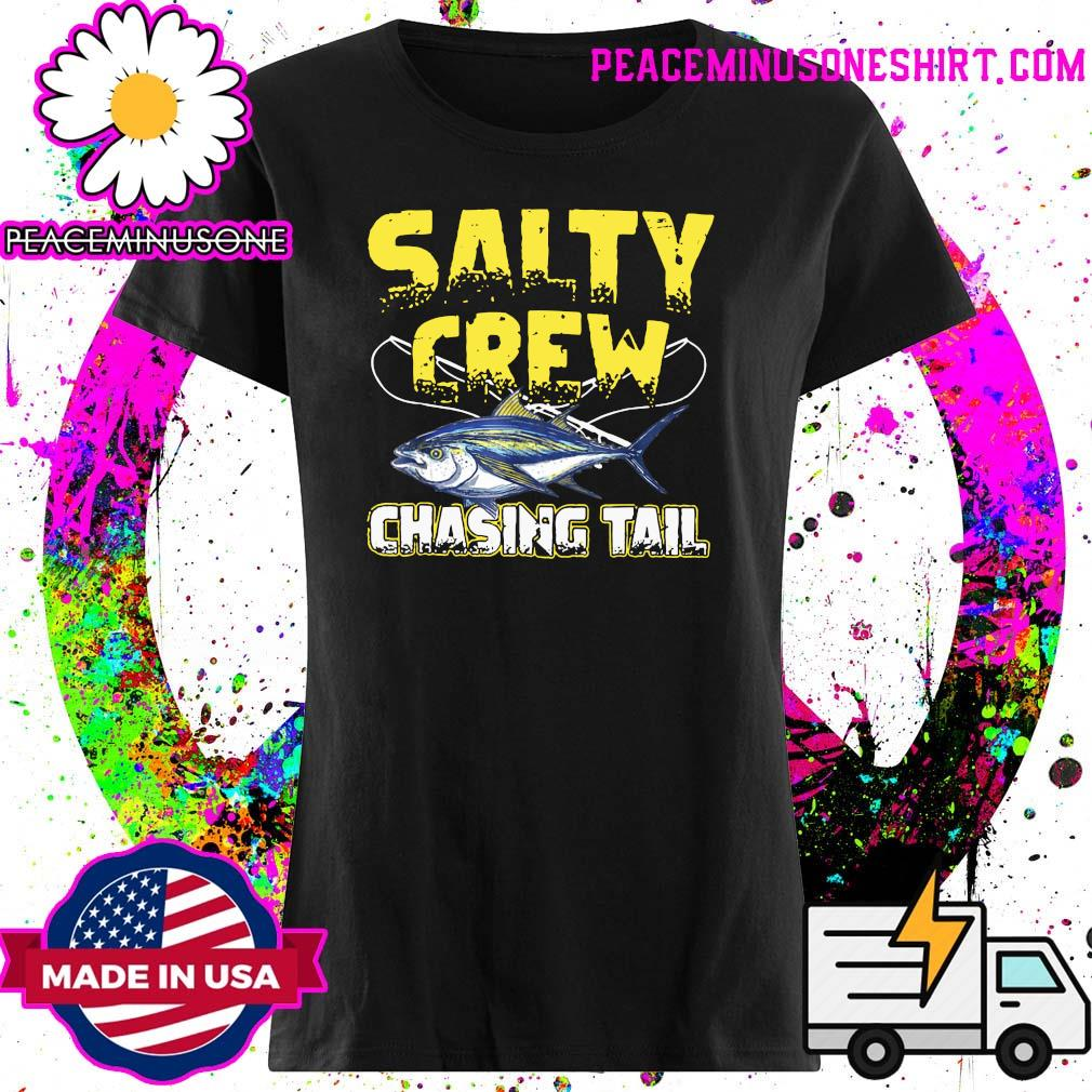Salty Crew Chasing Tail Fish Shirt Ladies