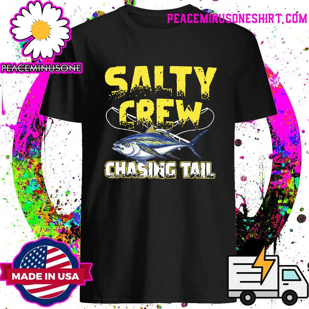 Salty Crew Chasing Tail Fish Shirt