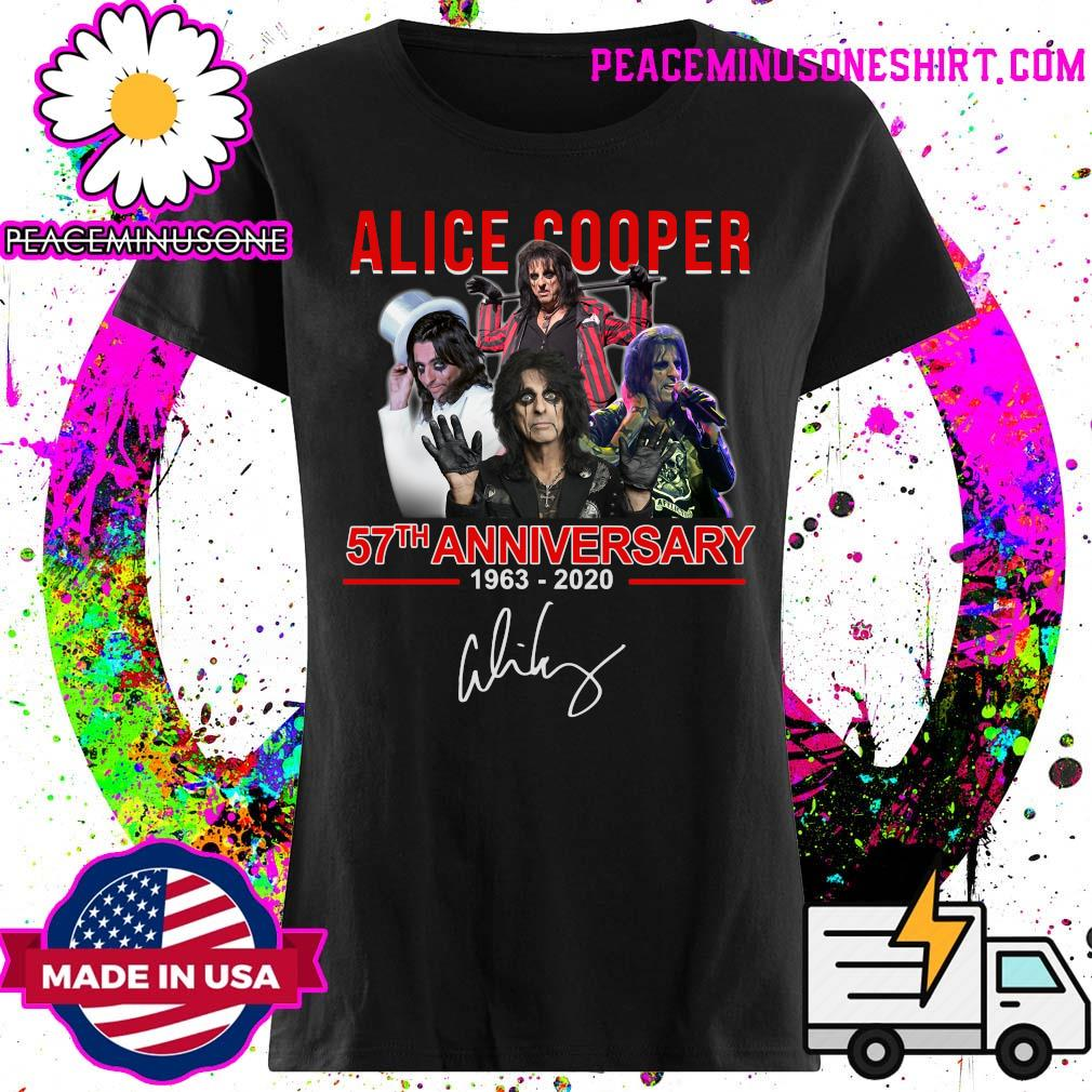 Alice Cooper 57th anniversary 1963 2020 signatures s Ladies