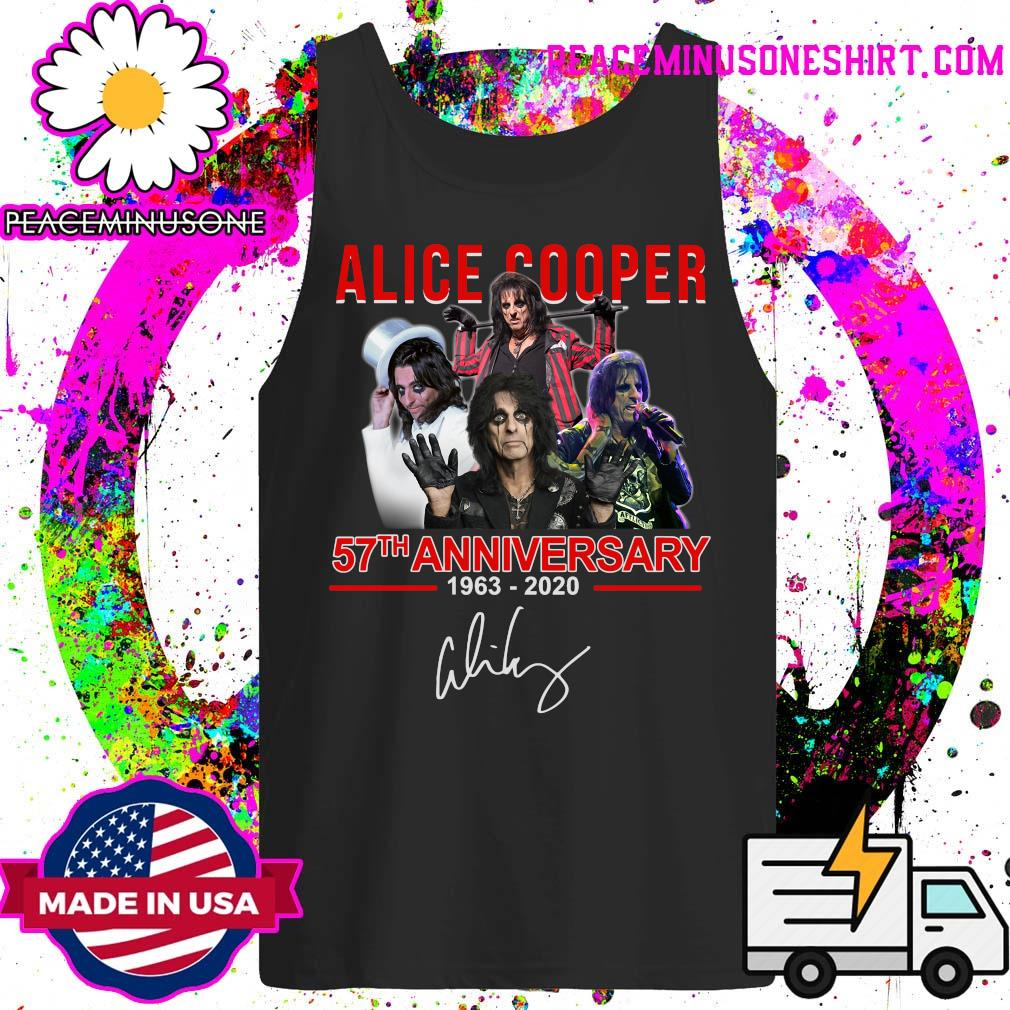 Alice Cooper 57th anniversary 1963 2020 signatures s Tank-Top