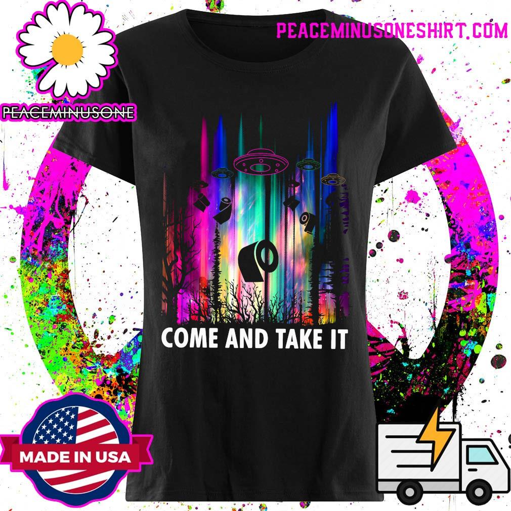 Come And Take It UFO Paper Shirt Ladies