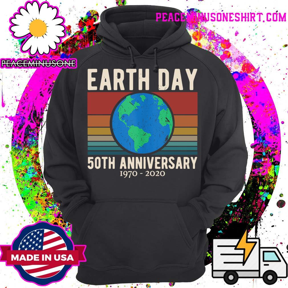 Earth Day 50th anniversary 1970 2020 vintage s Hoodie