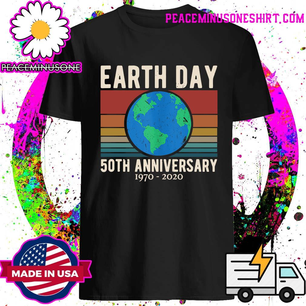 Earth Day 50th anniversary 1970 2020 vintage shirt