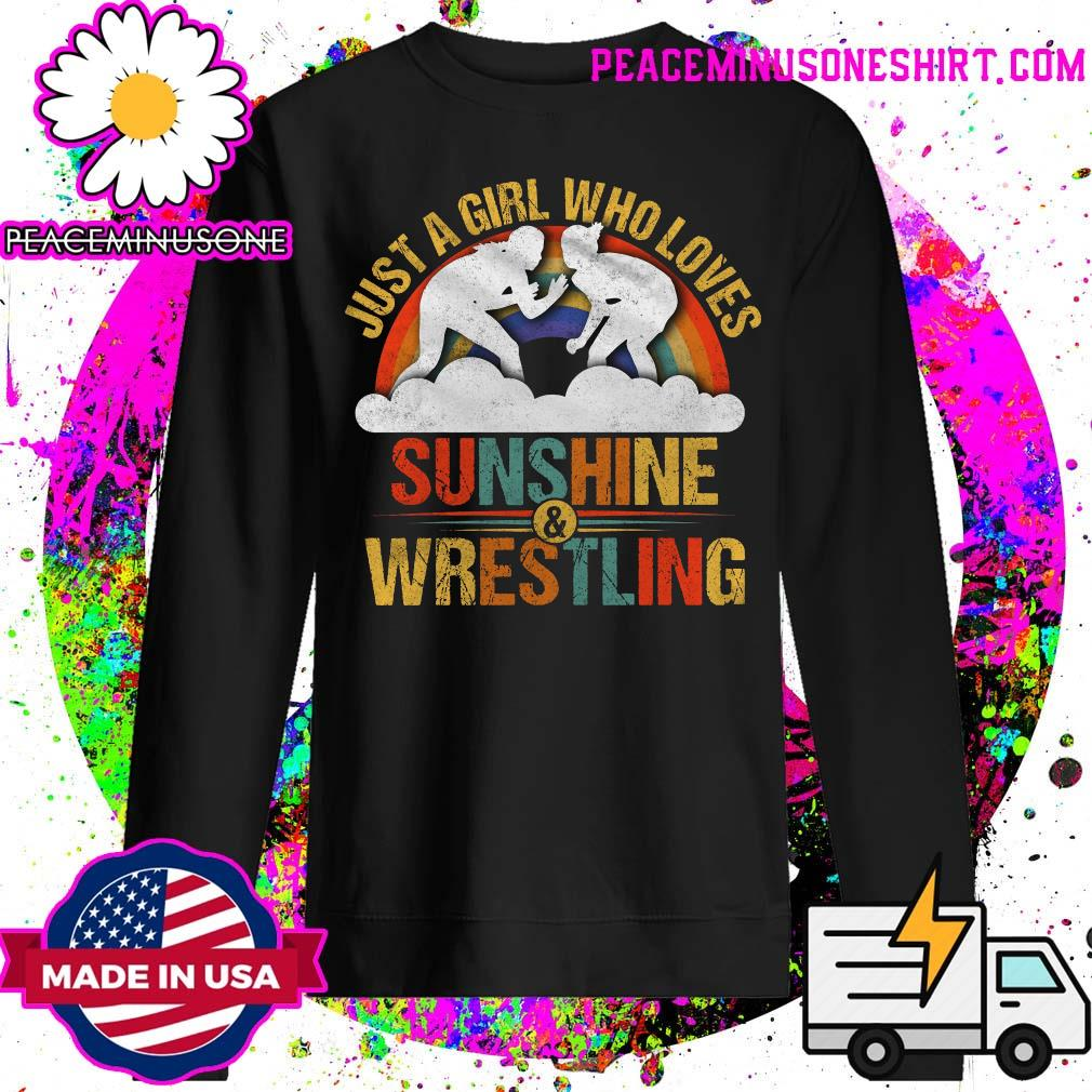 Just a girl who loves sunshine and wrestling s Sweater