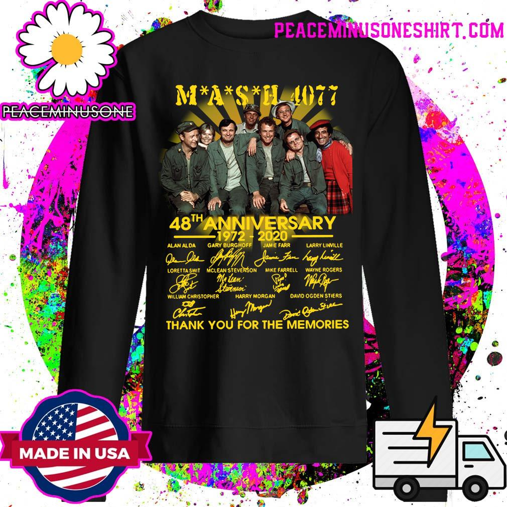 Mash 4007 48th anniversary 1972 2020 thank you for the memories s Sweater
