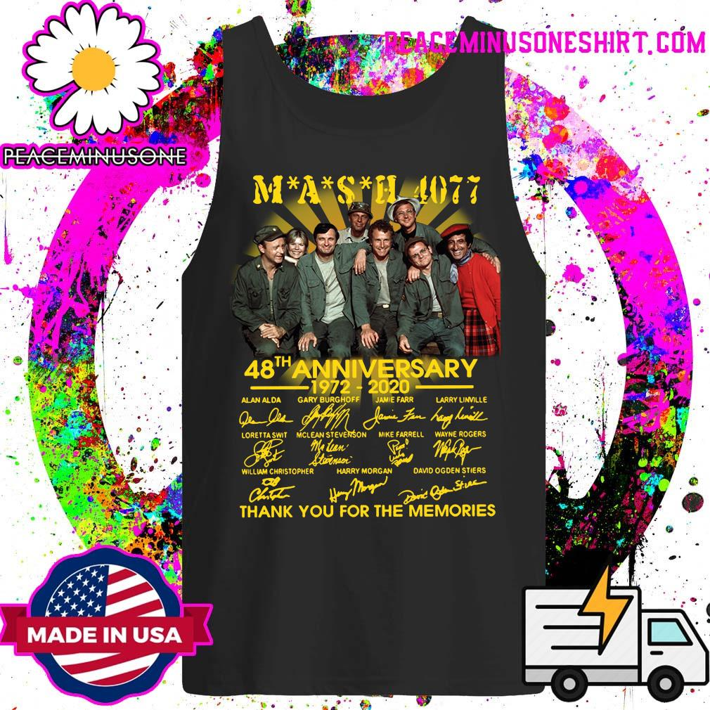 Mash 4007 48th anniversary 1972 2020 thank you for the memories s Tank-Top