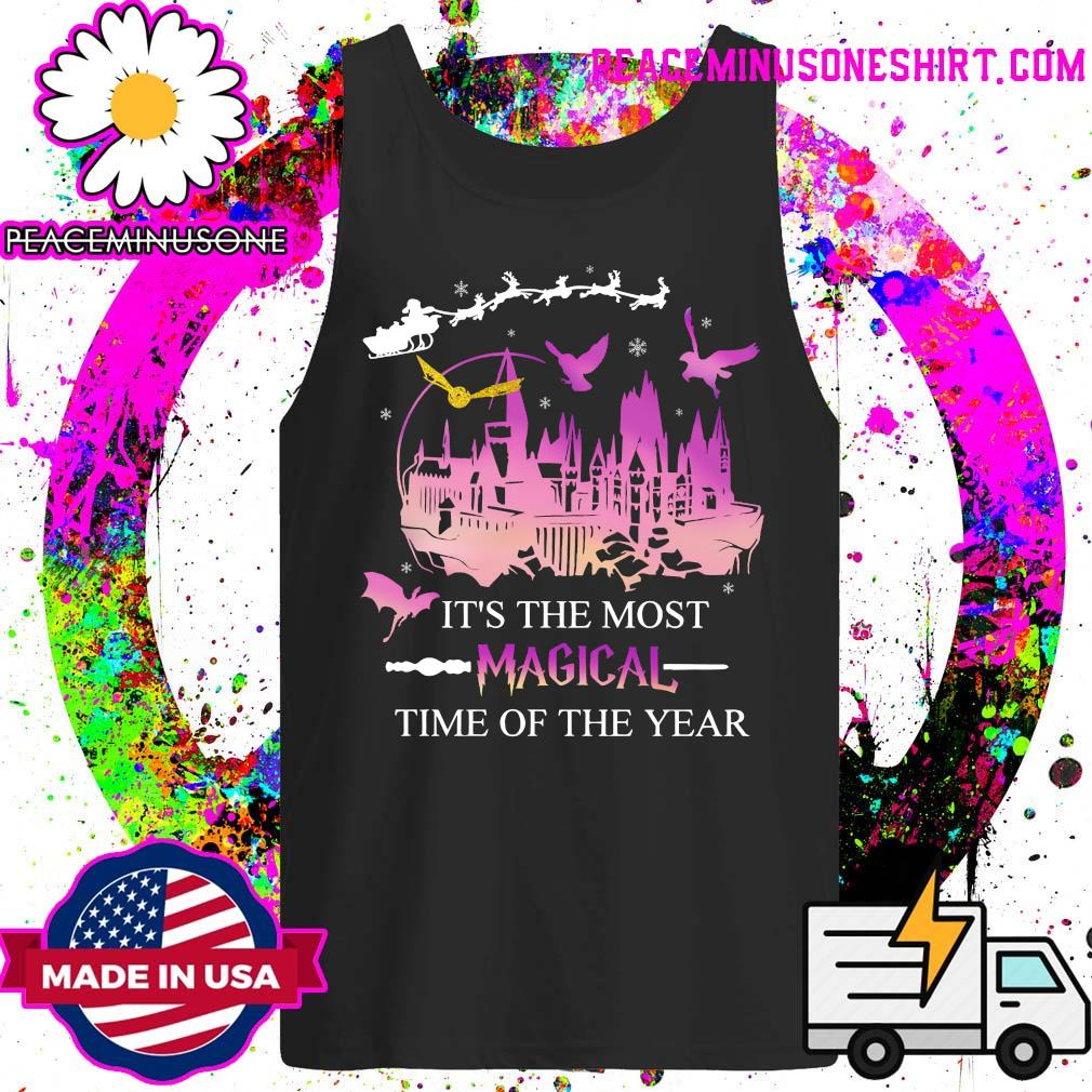 It's The Most Magical Time Of The Year Shirt Tank-Top