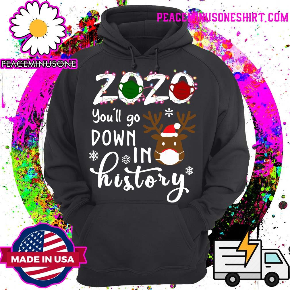 Official 2020 You_ll Go Down In History Christmas Sweats Hoodie