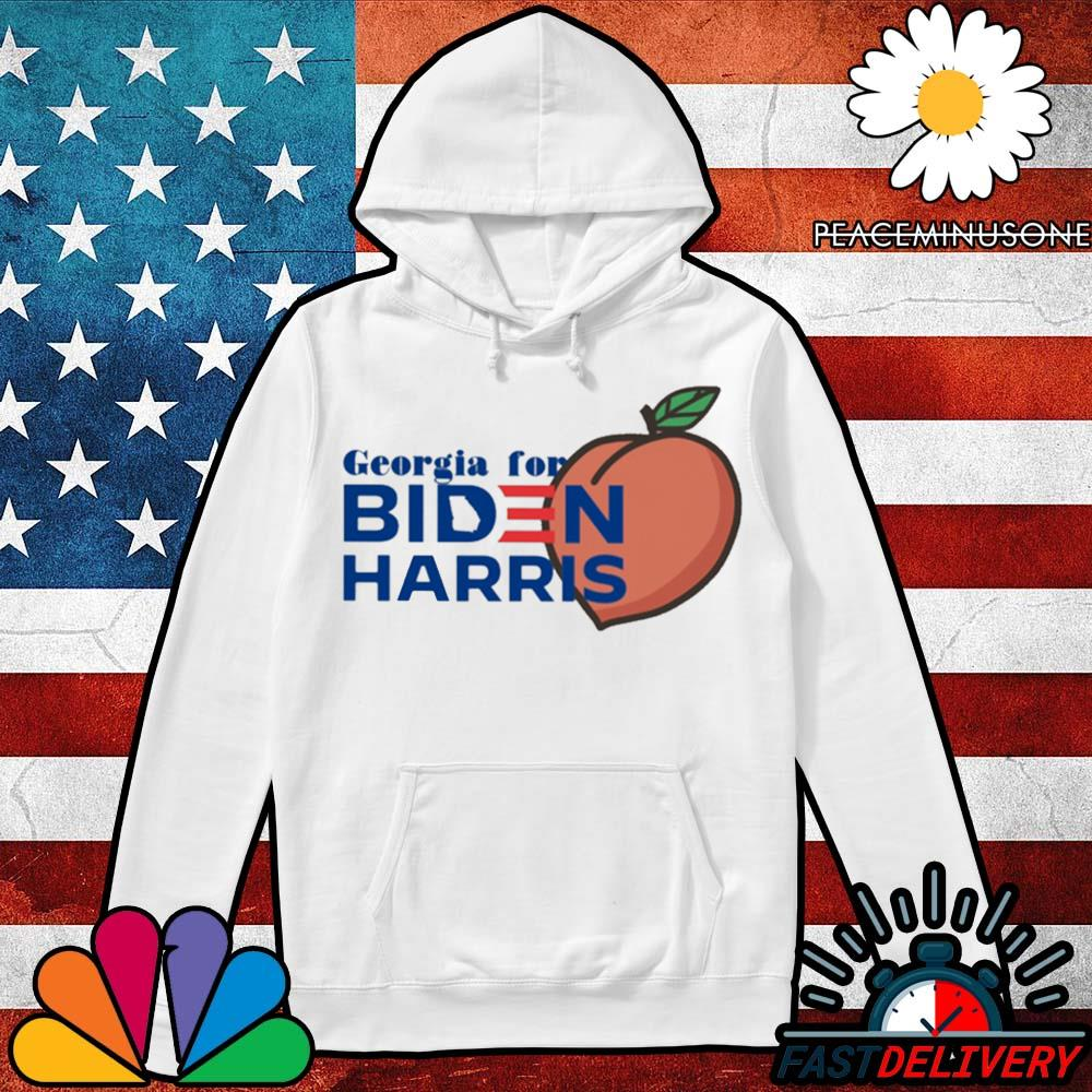 Georgia for Biden Harris peach s Hoodie