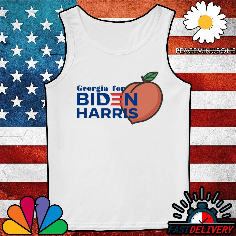 Georgia for Biden Harris peach s Tank-Top