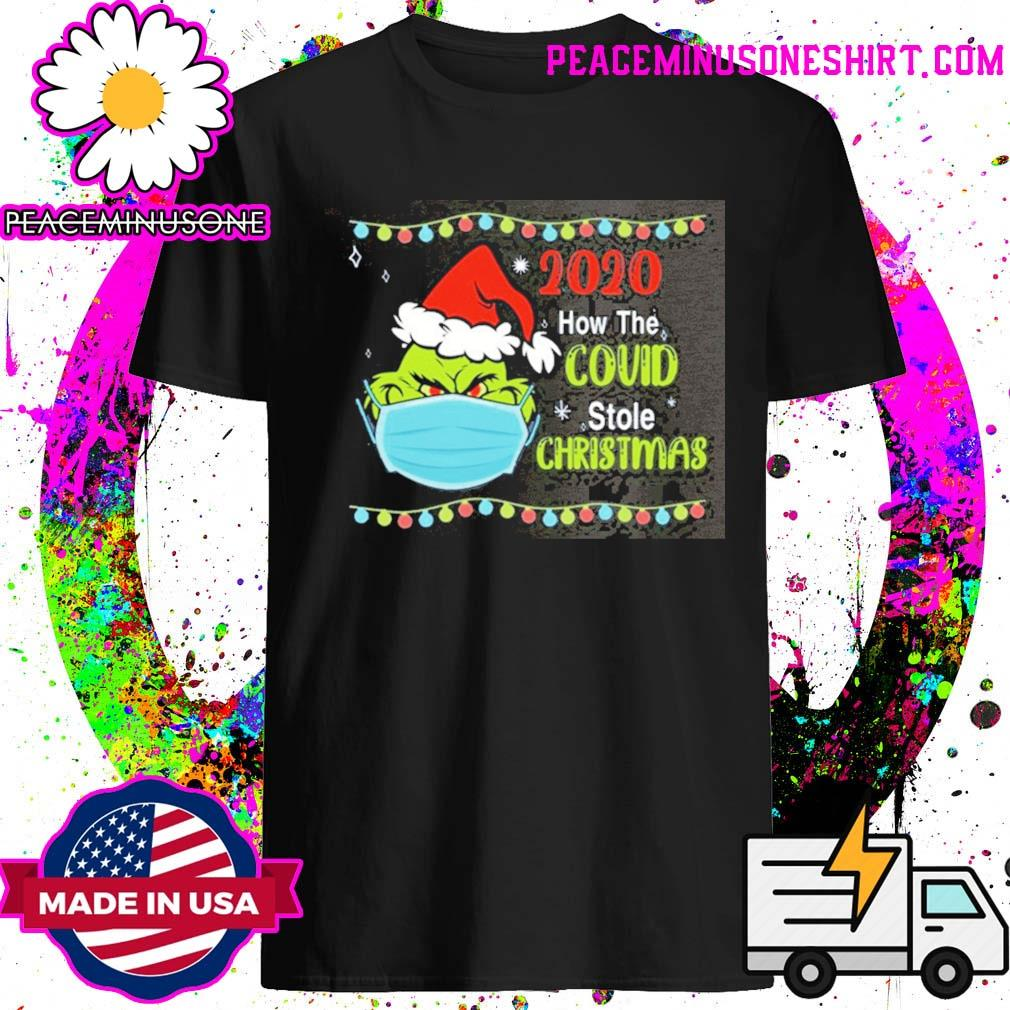 Grinch 2020 how the covid stole Christmas Sweater