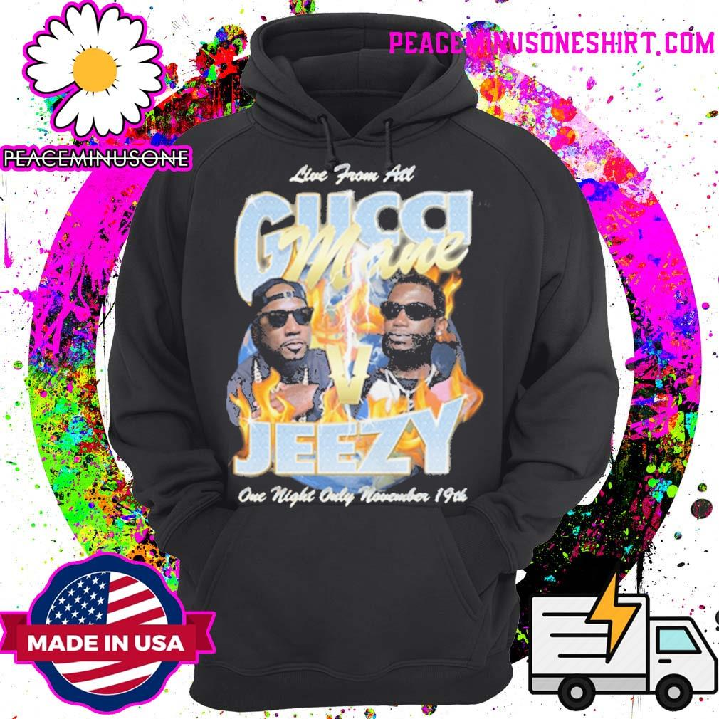 Gucci Mane Verzuz Jeezy one night only November 19th s Hoodie