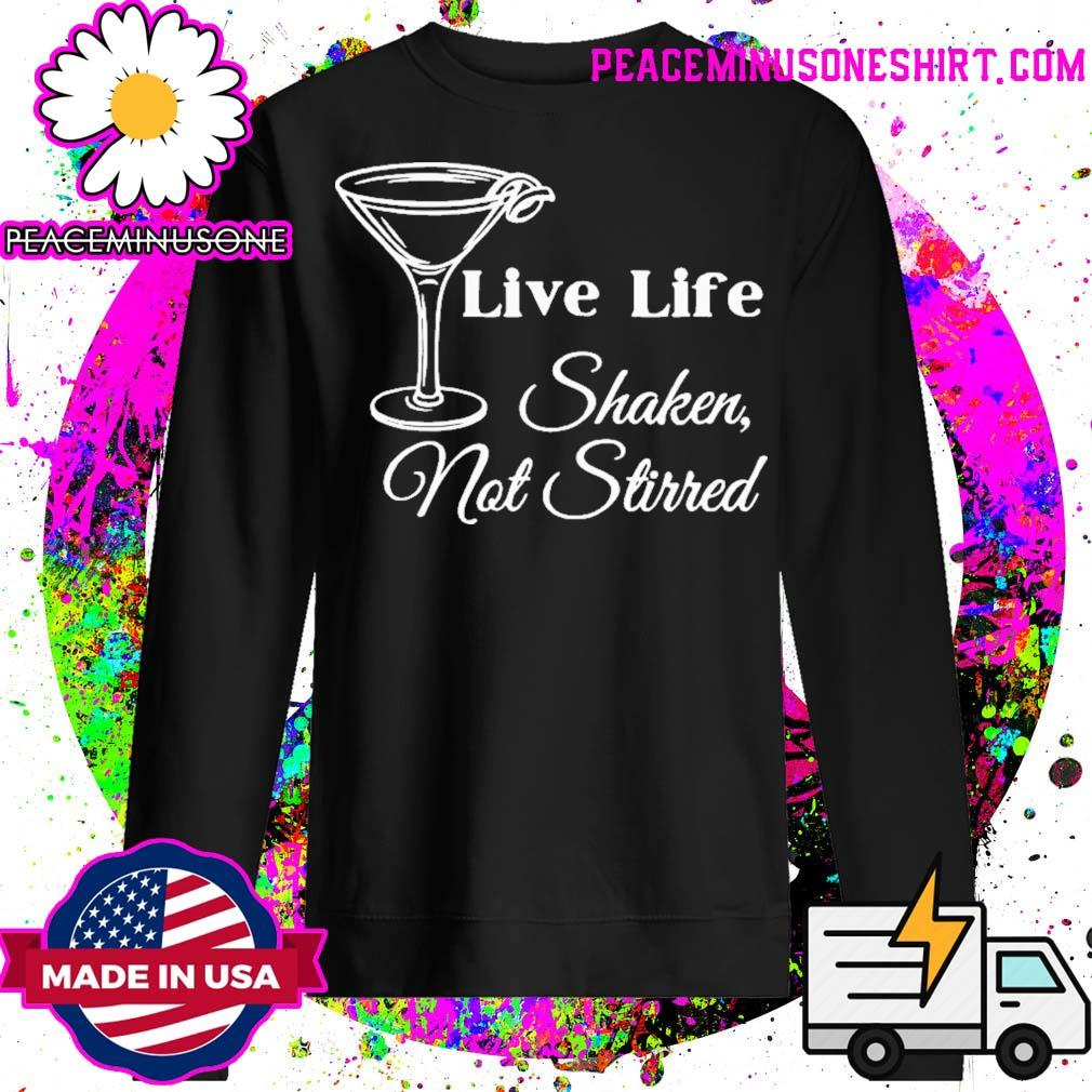 Live life shaken not stirred rip sean connery s Sweater