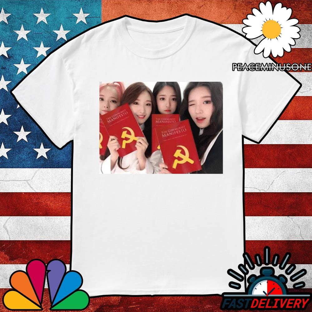 Loona girl group the communist manifesto shirt