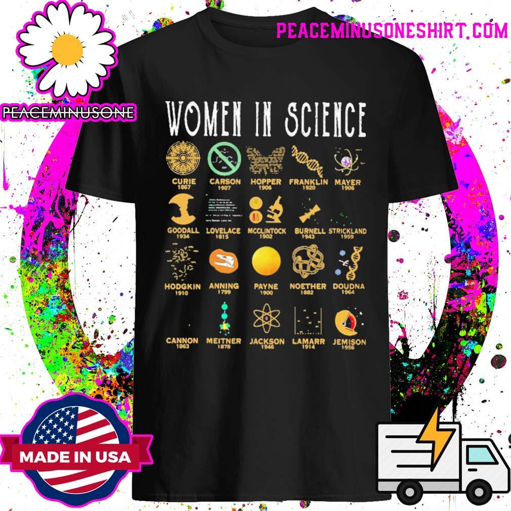 Official Women in Science shirt