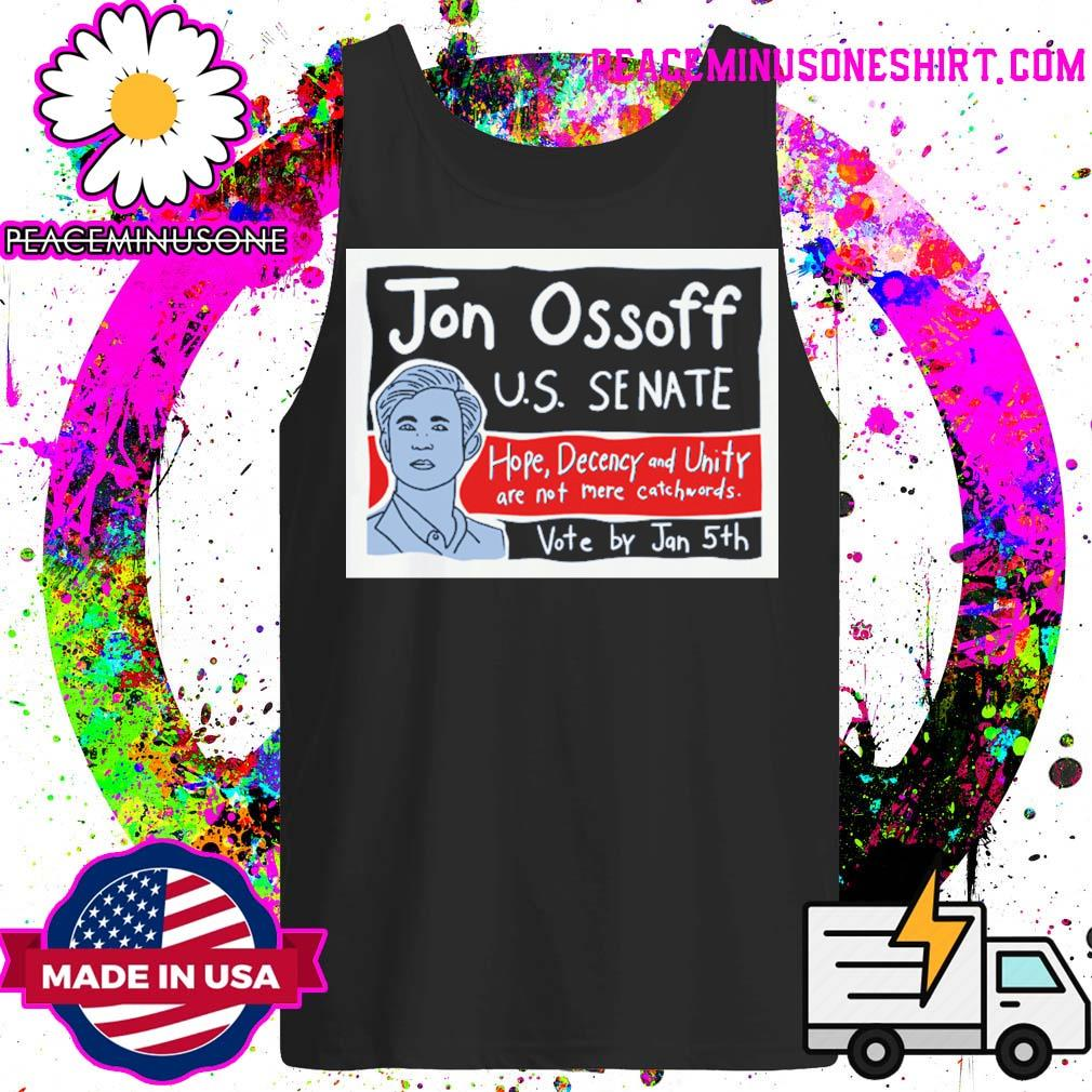 Ossoff for senate vote by Jan 5th s Tank-Top