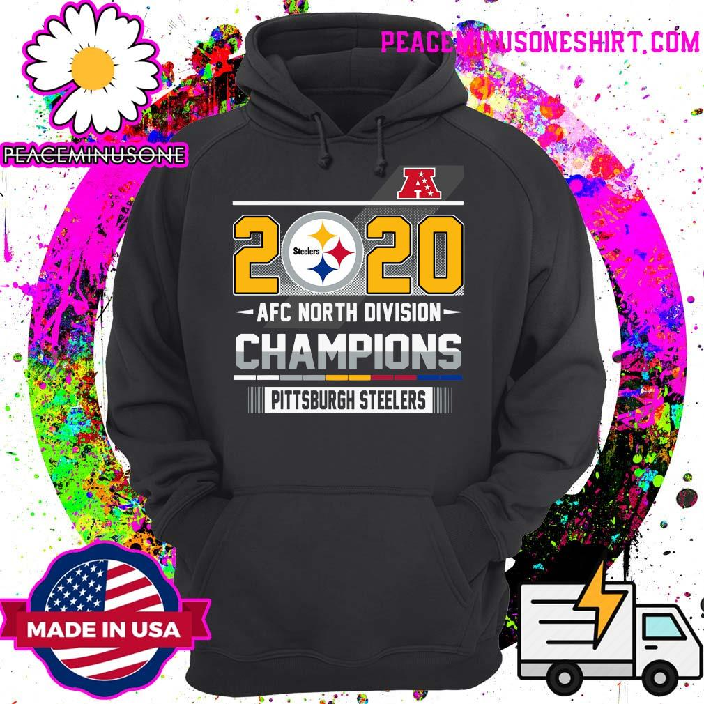 2020 Steelers Afc North Division Champions Pittsburgh Steelers Shirt Hoodie