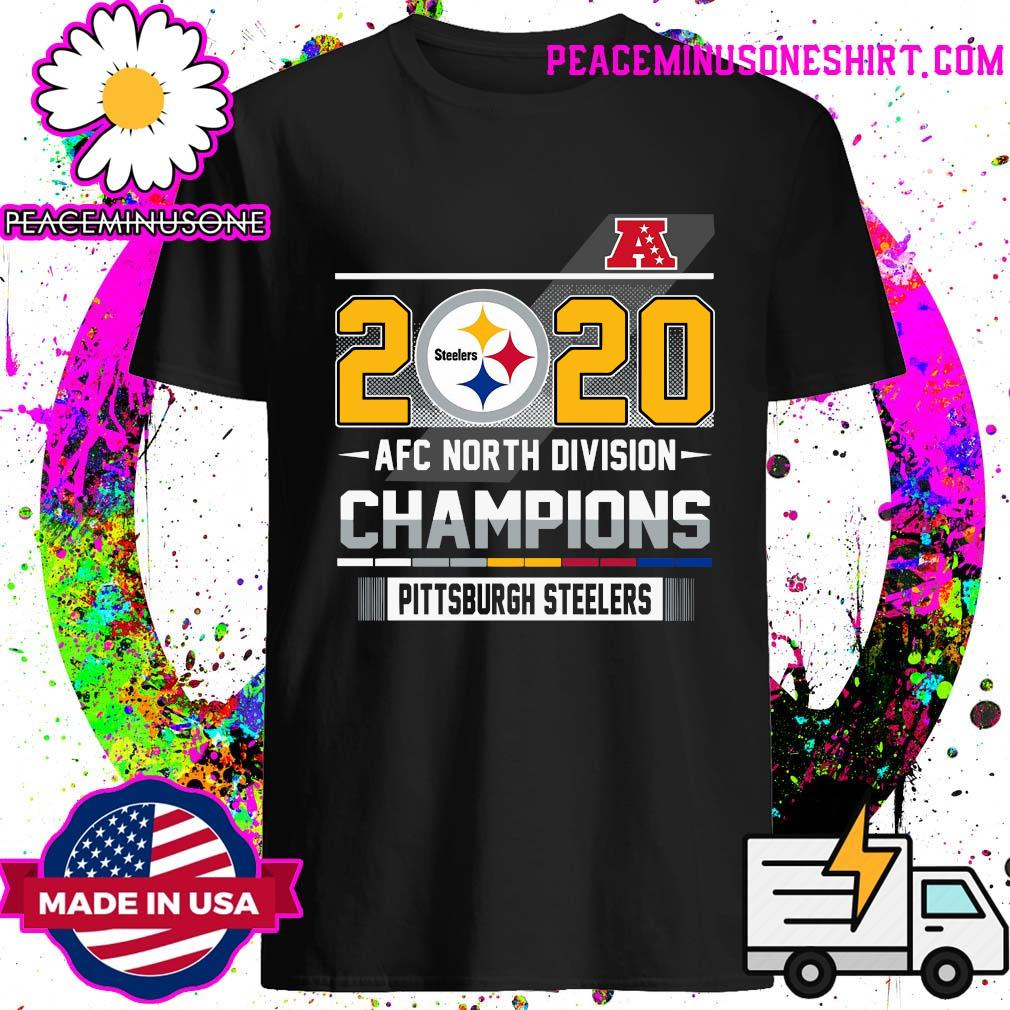 2020 Steelers Afc North Division Champions Pittsburgh Steelers Shirt