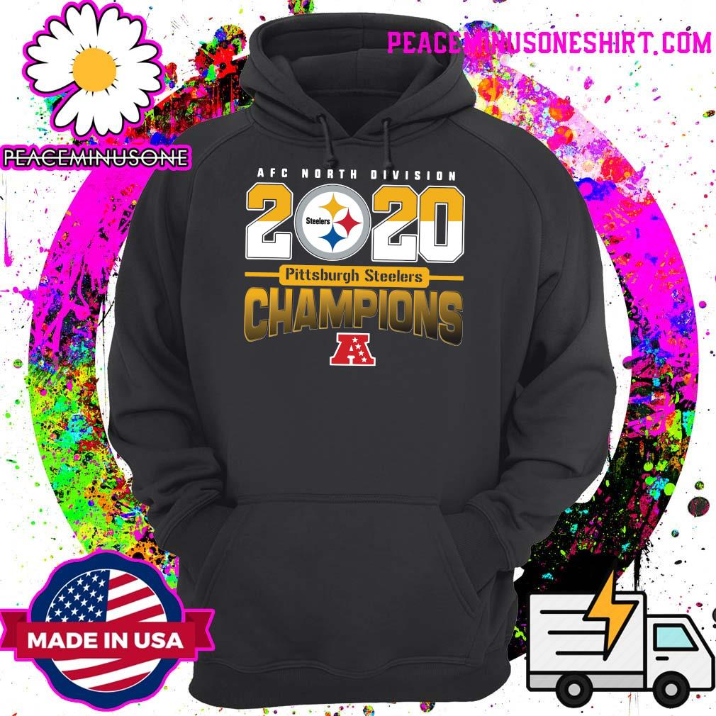 AFC North Division 2020 Champions Pittsburgh Steelers Shirt Hoodie