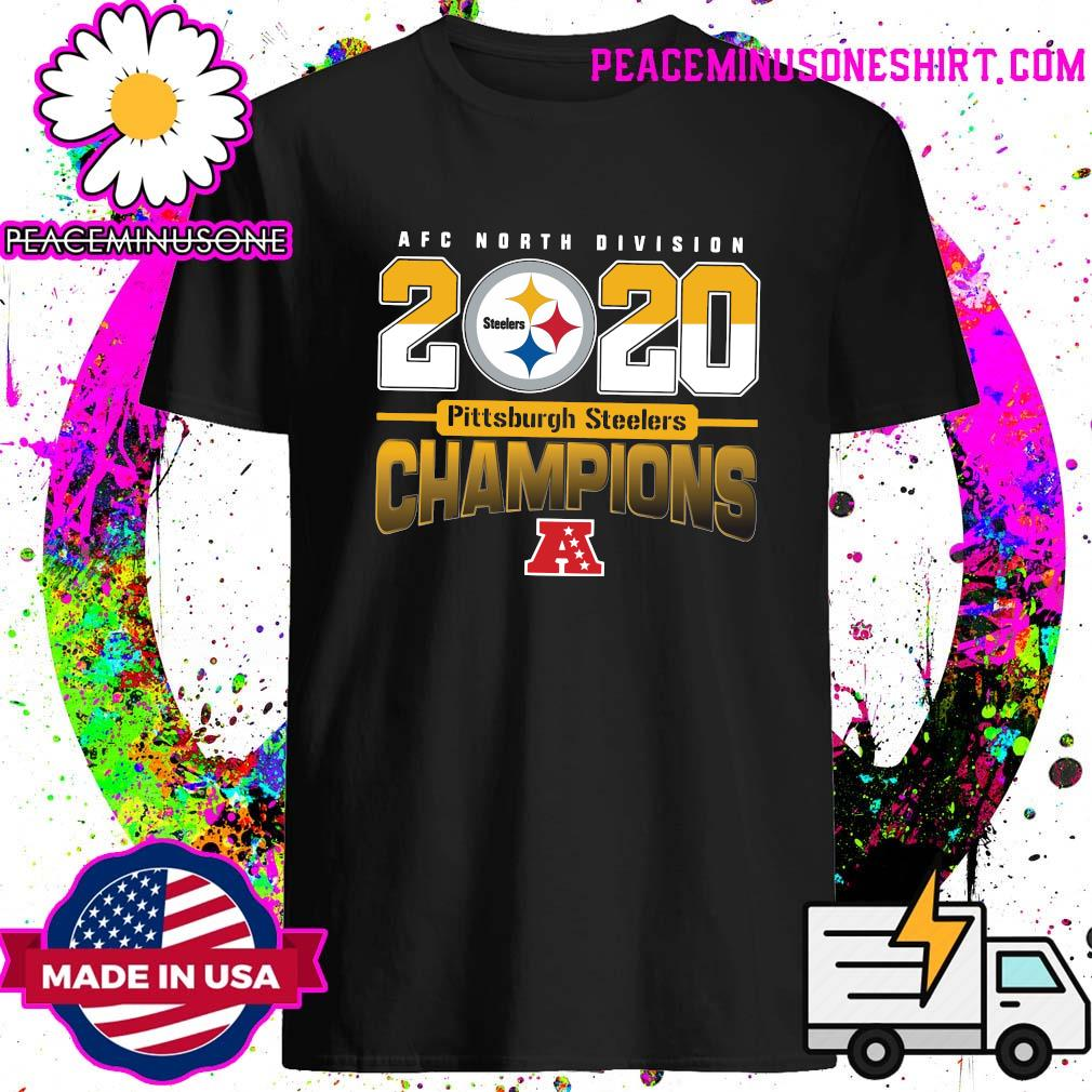 AFC North Division 2020 Champions Pittsburgh Steelers Shirt