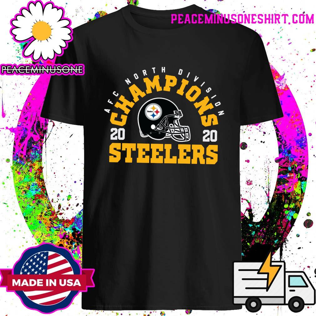 AFC North Division Champions 2020 Pittsburgh Steelers Shirt