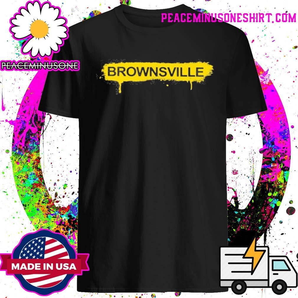 Mike Tyson Brownsville yellow shirt