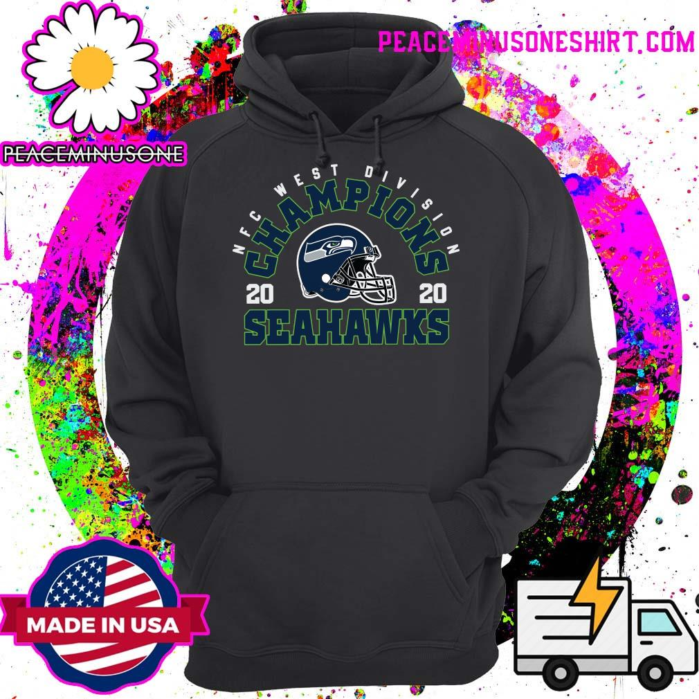 NFC West Division Champions 2020 Seattle Seahawks Football Shirt Hoodie