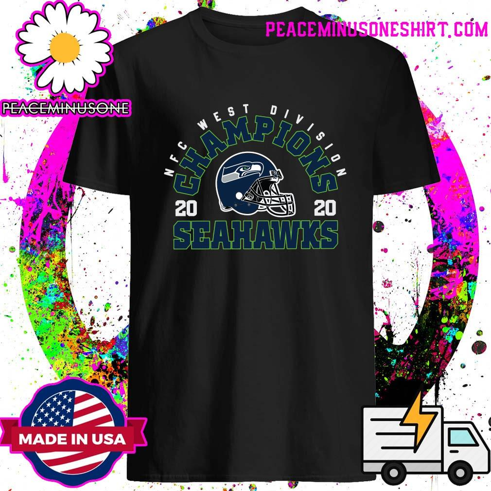 NFC West Division Champions 2020 Seattle Seahawks Football Shirt