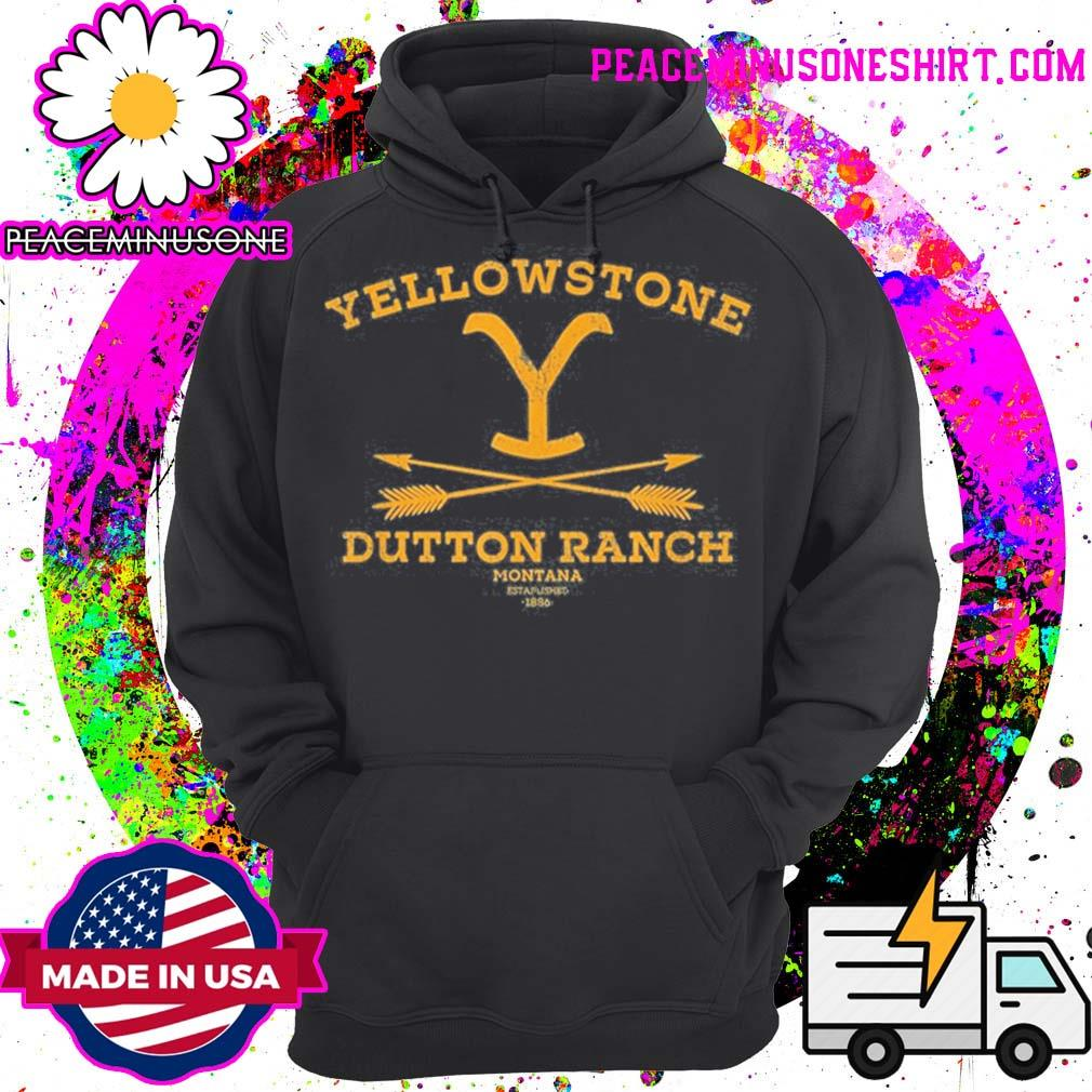 Yellowstone dutton ranch arrows s Hoodie
