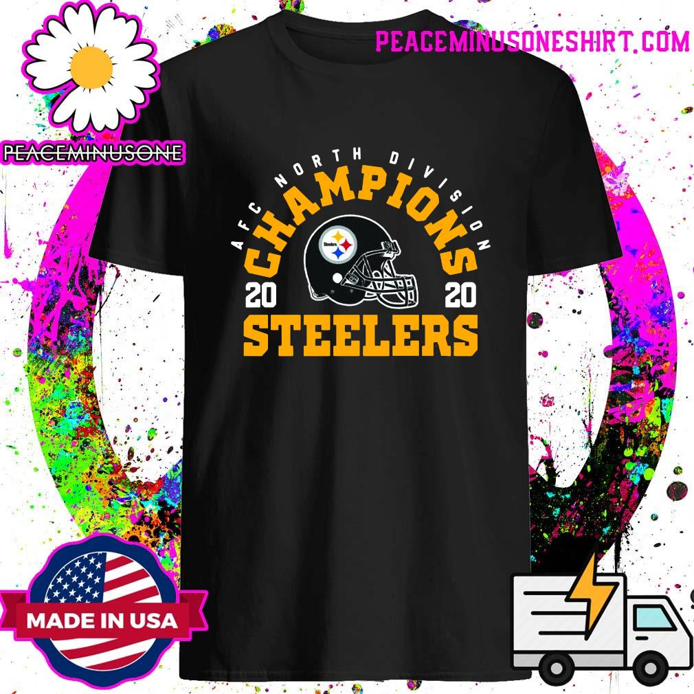 Afc North Division Champions 2020 Pittsburgh Steelers T-Shirt