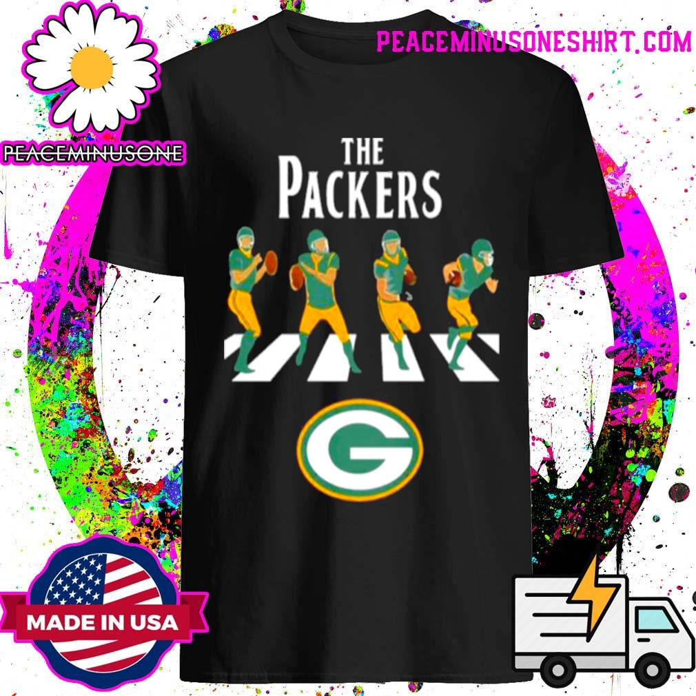 Green bay packers abbey road 2021 shirt