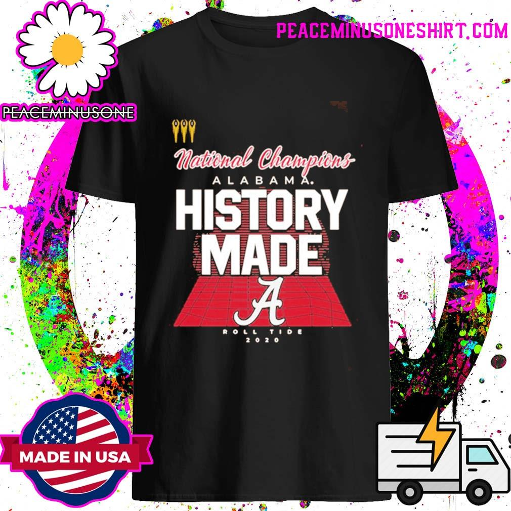History Made Alabama 2021 National Championship 18Th T-Shirt