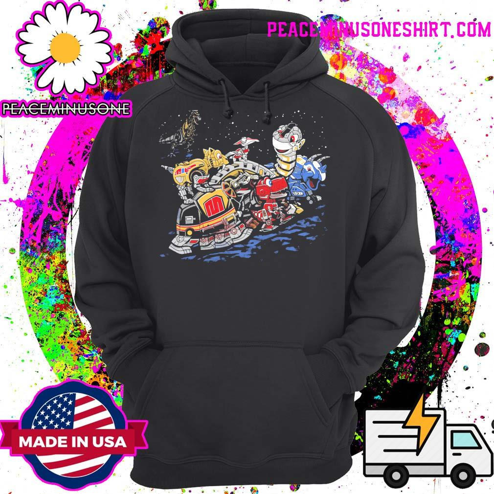 Zords before time Powers Ranger s Hoodie